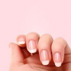 Express Jessica nails french manicure