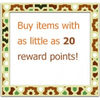 Buy items with as little as 20 Reward Points