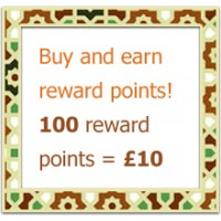 Collect 100 reward points and get a £10 voucher