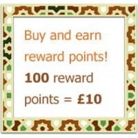 Collect 100 reward points and get a £10 voucher
